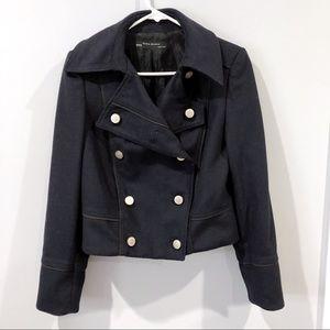 Zara military vs prep coat